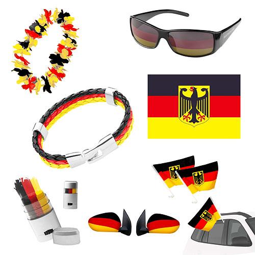 taffstyle 7 teiliges fan set fanartikel deutschland. Black Bedroom Furniture Sets. Home Design Ideas