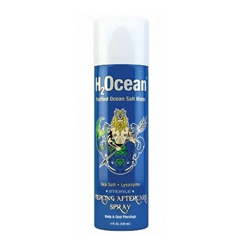 Piercing Pflegemittel H2Ocean Piercing Aftercare Spray mit Meeressalz & Lysozym