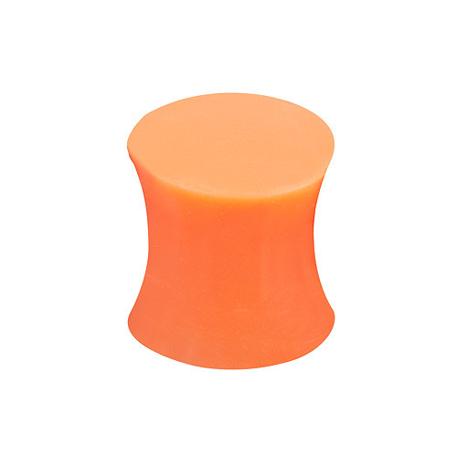 Silikon Ohr Plug - Orange
