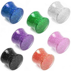Flesh Saddle Plug Kunststoff Ultra Glitter