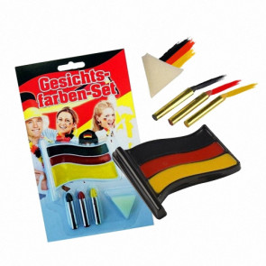 Damen Schminkstift Set Fussball Weltmeisterschaft Deutschland Fanartikel Make-Up