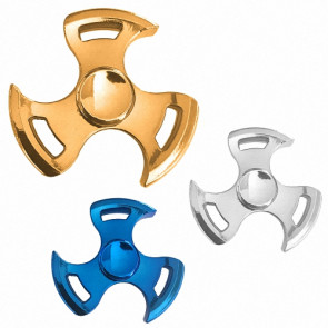 Hand Finger Spinner Fidget Anti Stress Konzentration Toy Spielzeug Tomoe Metall